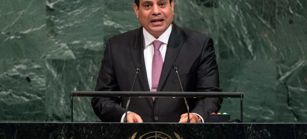 मिस्र के राष्ट्रपति अल सीसी
